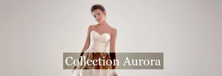Collection robe de mariée Aurora