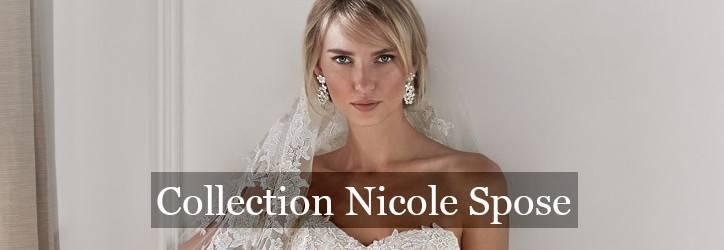Collection robe de mariée Nicole Spose